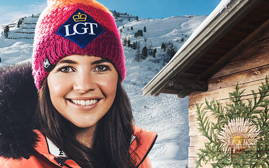 Tina Weirather, Alpine Ski Racer, sponsored by LGT since 2006
