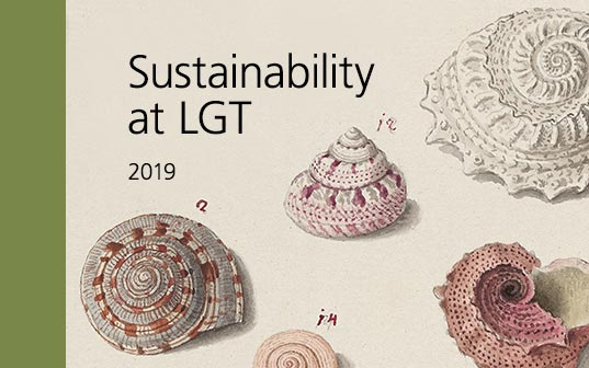 The LGT Sustainability Report