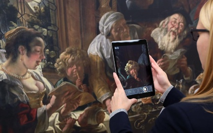 Augmented Reality und Jacob Jordaens