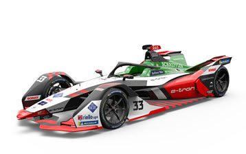 Audi presents e-tron FE07 for Formula E World Championship