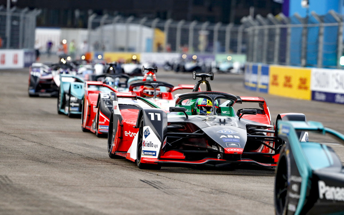 Audi driver di Grassi also scores points in fourth race of Formula E finale