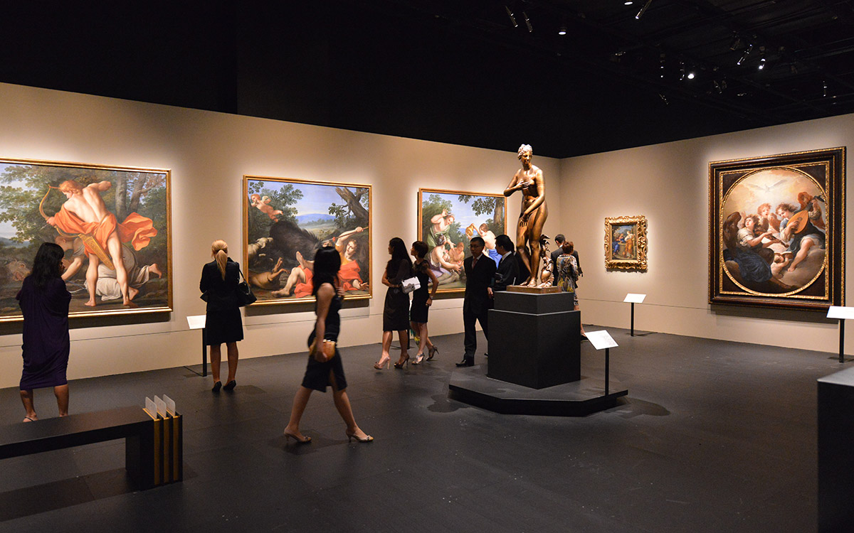 Exhibition of the Princely Collection - Liechtenstein Collections in Singapur.